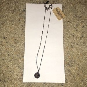 NWT Nine West Brown ball necklace